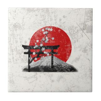 Carreau Drapeau et symboles du Japon ID153