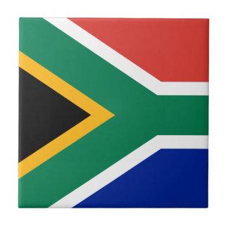 Carreau Drapeau national sud-africain