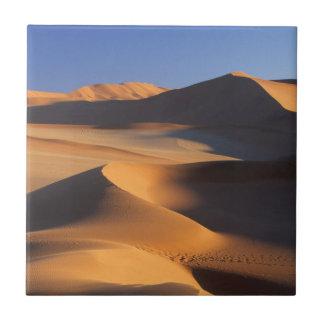 Carreau Dunes de désert, Sossusvlei, Namib-Naukluft