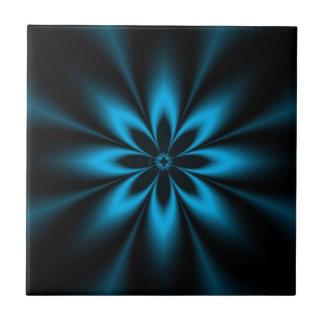 Carreau Éclat bleu de fleur