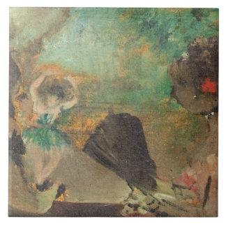 Carreau Edgar Degas | le Loge, c.1883