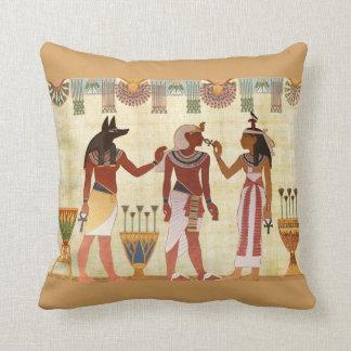 Carreau égyptien de conception (b) coussin