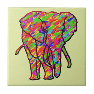 Carreau Éléphant d'éclaboussure