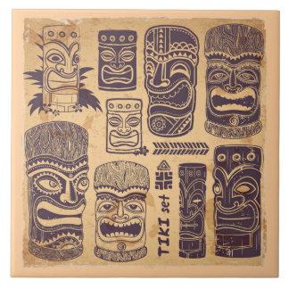 Carreau Ensemble vintage de Tiki