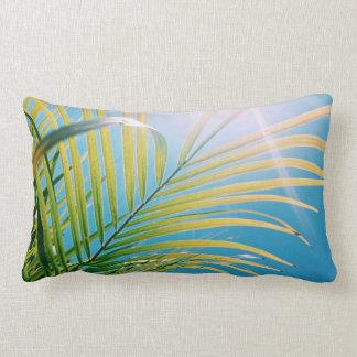 Carreau ensoleillé de palmier de vibraphone coussin décoratif