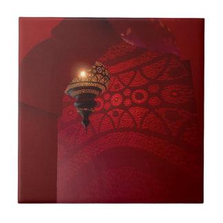 Carreau Entrée arquée et lanterne lumineuse
