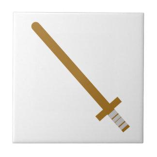 Carreau Épée en bois