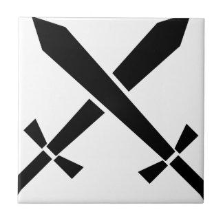 Carreau épées