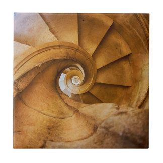 Carreau Escalier de haut en bas de spirl, Portugal