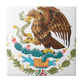 Carreau Escudo Nacional de México - emblème mexicain