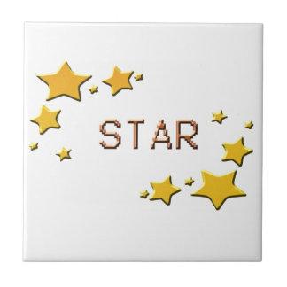 Carreau étoiles