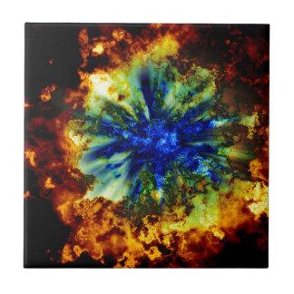 Carreau Explosion cosmique