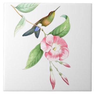 Carreau Faune florale d'animaux de fleurs d'oiseaux de