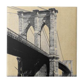 Carreau Ferrys-boat 1896 de pont de Brooklyn