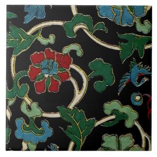 Carreau Floral japonais vintage élégant