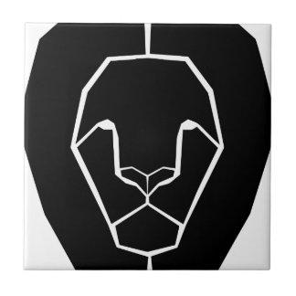 Carreau Forme principale de silhouette de lion