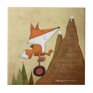Carreau Fox Unicyclist-Plus qu'un conquérant