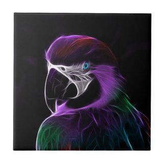 Carreau gamme de conception de fractale de perroquet