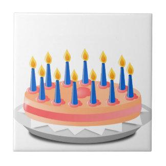 Carreau Gâteau d'anniversaire