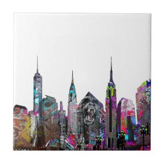 Carreau Graffiti de New York City