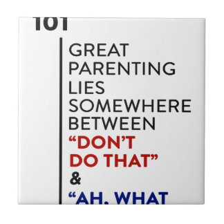 Carreau Grand conseil de condition parentale du Parenting
