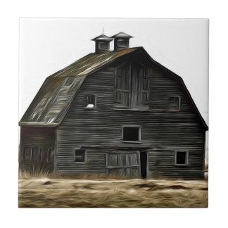 Carreau Grange abandonnée de prairie