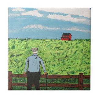 Carreau Griff et la grange rouge
