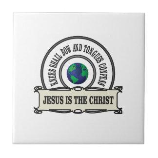Carreau Homme de sauveur de Jeus le Christ