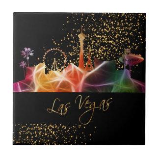 Carreau Horizon coloré de Las Vegas
