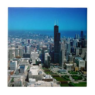 Carreau Horizon de Chicago l'Illinois
