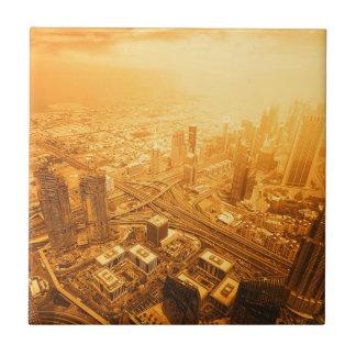 Carreau Horizon de Dubaï Emirats Arabes Unis