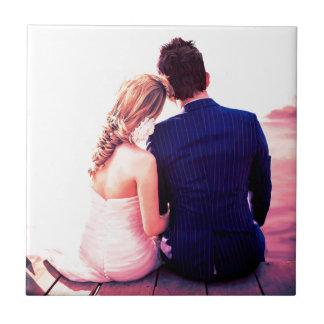 Carreau Horizon de jour du mariage