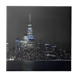 Carreau Horizon de New York City New York d'horizon de New