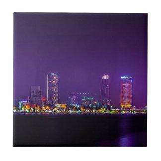 Carreau Horizon de nuit du Vietnam de Da Nang