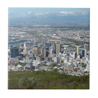 Carreau Horizon de ville de Cape Town