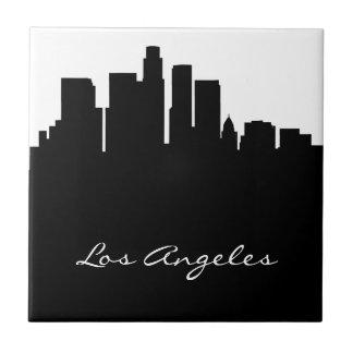 Carreau Horizon noir et blanc de Los Angeles