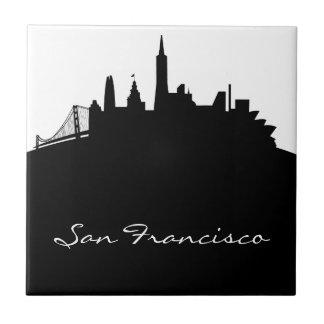 Carreau Horizon noir et blanc de San Francisco