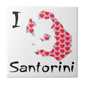 Carreau I coeur Santorini