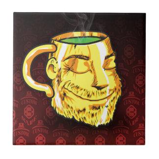 Carreau il effiloche de thé