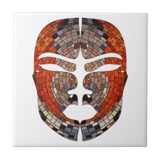 Carreau Imitation de résumé de masque africain