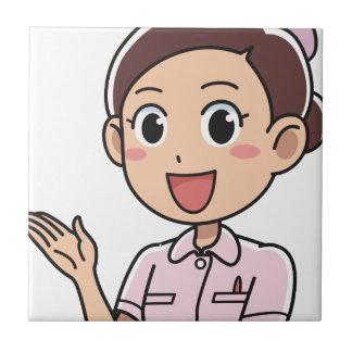 Carreau Infirmière féminine