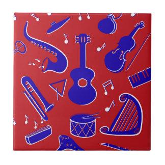 Carreau Instruments de musique