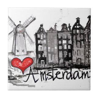 Carreau J'aime Amsterdam