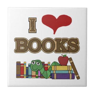 Carreau J'aime des livres