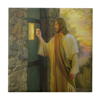 Carreau Jésus à votre cru de porte