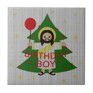 Carreau Jésus - Noël