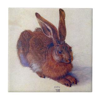 Carreau Jeunes lièvres par Albrecht Durer, beaux-arts de