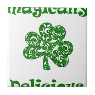 Carreau Jour de la Saint Patrick