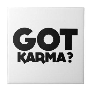 Carreau Karma obtenu, mots des textes