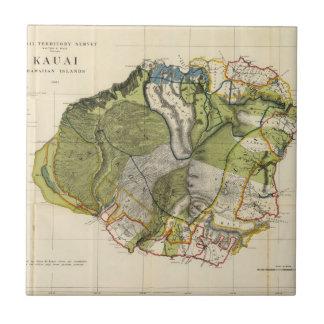 Carreau Kauai, Hawaï